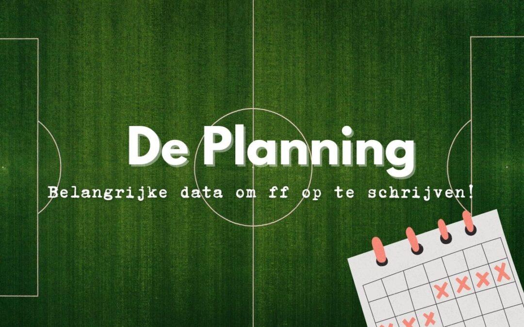 De Planning