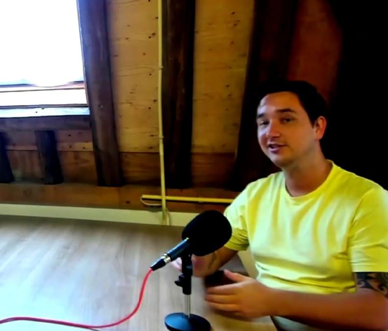 Mec over leren podcasten bij BiebAanzet