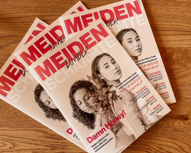 Dordts magazine 'Meiden zonder schaamte'